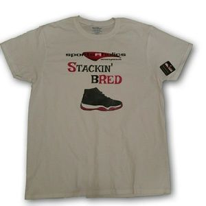 Jordan Retro bred 11 Sportsaholics Stackin Bred T
